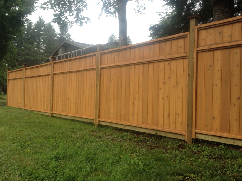 fence also big - photo #8